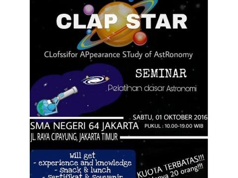 SEMINAR CLAP STAR